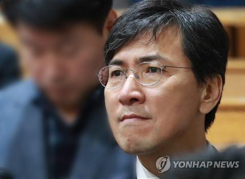 An Hee-jung, exgobernador de la provincia de Chungcheong del Sur (foto de archivo)