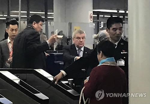 Visita histórica del presidente del COI a Corea del Norte