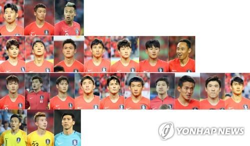 Corea del Sur confirma su alineación final de 23 jugadores para la Copa Mundial de la FIFA