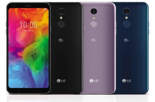 En la imagen, proporcionada por LG Electronics, se muestra LG Q7