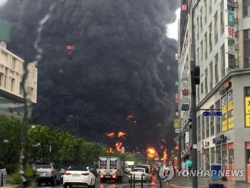 3 muertos en un incendio de una zona de construcción