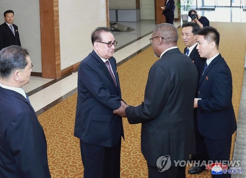Recibe Díaz-Canel a dirigente partidista de Corea Democrática