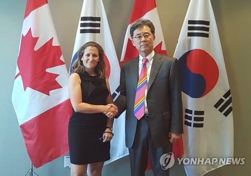 Anuncia la canciller canadiense reunión con Peña y AMLO