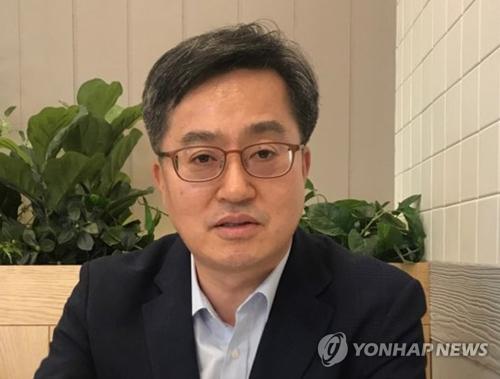 El ministro de Economía y Finanzas de Corea del Sur, Kim Dong-yeon (foto de archivo)