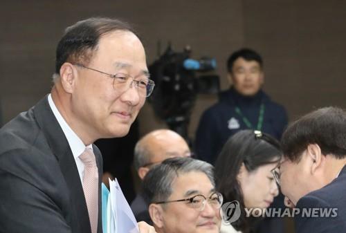 Hong Nam-ki, nominado a ministro de Economía y Finanzas. (Foto de archivo)