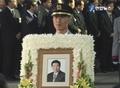 已故前总统卢武铉的发�仪式在峰下村举行