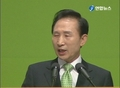 李明博总统提出韩半岛新和平构想