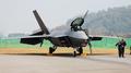 美国F-22战机首次在韩试飞炫技 垂直爬升引来惊叹