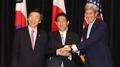 韩美日外长聚首纽约就朝鲜核试发表联合声明