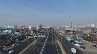 인천~김포 고속도로 개통…운행시간 40분 단축