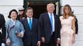 文在寅在白宫会晤特朗普