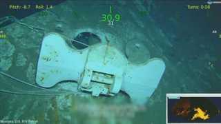 히로시마 원폭 싣고간 미 군함, 침몰 72년 만에 발견