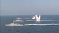 韩美联演在半岛东西部海域启动