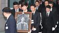 韩演员金柱赫出殡仪式今日举行