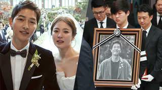 [포토무비] 송송커플부터 김주혁 사망까지…2017 연예계 굿·배드뉴스