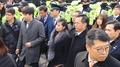 朝鲜艺术团先遣队抵达首尔