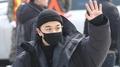 BIGBANG太阳今入伍 100名粉丝送行