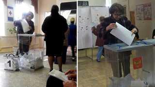 """""""중복투표 아닙니다. 쌍둥이입니다""""…푸틴 부정선거 의혹 증폭"""