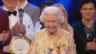 영국여왕, 영연방 스타들과 92세 생일 콘서트 열어