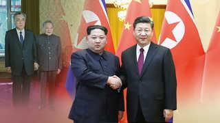 """""""북한의 강경 자세 배경은 중국의 지원 약속"""""""