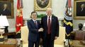 Cheong Wa Dae: Moon y Trump acuerdan presionar para celebrar la cumbre según lo ..