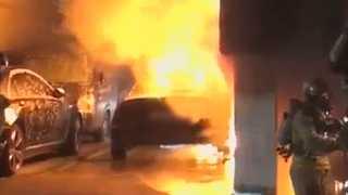 서울 방배동 빌라 화재…주민대피ㆍ차량 6대 전소