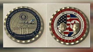 북미정상회담 취소에 백악관 기념주화 할인 판매