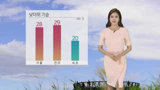 [날씨] 한여름 더위 기승…공기 탁하고 자외선 강해