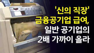 [영상] 평균연봉 9천309만원…금융공기업, 급여 인상도 '신의 직장'