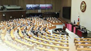 정치권, 판문점 지지 결의안 본회의 처리 무산