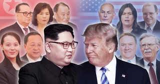 위상 재확인한 김여정…외교 브레인도 총출동