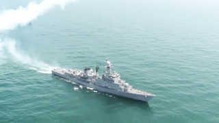 해군 호위함서 폭발 사고…부사관 1명 순직