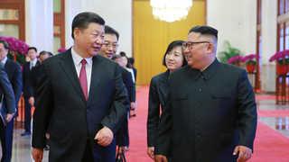 김정은, 시진핑과 두차례 회동…'북중 밀착관계' 과시