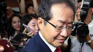 홍준표 전 자유한국당 대표, 변호사 개업 신고 완료