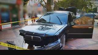 후진하던 승용차에 20대 아파트 경비원 치여 사망