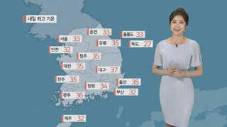[날씨] 당분간 폭염 계속…서울 33도ㆍ대구 37도