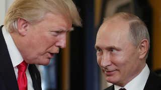 """푸틴 만나는 트럼프 """"큰 기대안해""""…""""가짜뉴스, 잘해도 공격"""""""