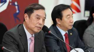 한국당, 비대위원장 최종 후보에 김병준