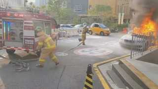 경기 성남서 BMW 디젤차량 화재…올해만 5번째