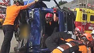 서울외곽순환도로서 3중 추돌사고…1명 사망