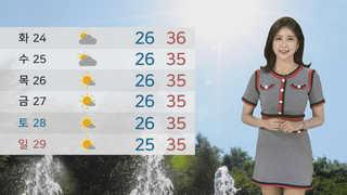[날씨] 서울 29.2도, 역대 최강 열대야…낮에도 찜통
