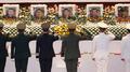 Moon rend hommage aux Marines morts dans l'accident d'hélicoptère