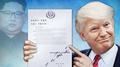 Donald Trump dit avoir reçu une lettre de Kim Jong-un