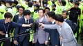 Affaire Druking : le gouverneur Kim Kyoung-soo répond aux questions des procureu..