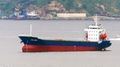 消息:一疑似运朝煤的外籍货轮现停在韩国