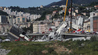 '교량붕괴 참사' 이탈리아 제노바에 비상사태 선포