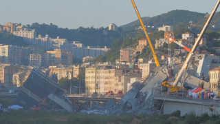 다리붕괴 참사에 이탈리아 정부 'EU 탓'…EU 즉각 반박