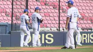 """[아시안게임] 야구대표팀 첫 훈련…""""3연패, 가자!"""""""