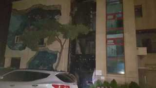 충남 태안 리조트서 불…피서객 수십명 대피