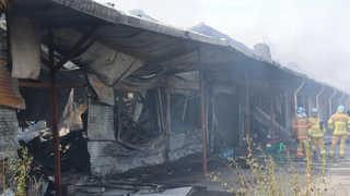 경기 남양주 식자재 창고서 불…한때 대응 1단계 발령